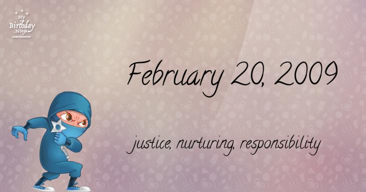 February 20, 2009 Birthday Ninja