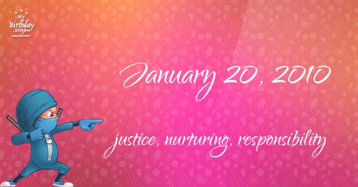 January 20, 2010 Birthday Ninja