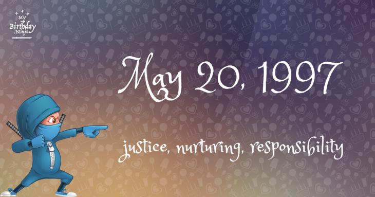 May 20, 1997 Birthday Ninja