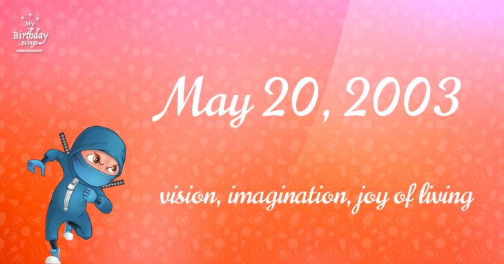 May 20, 2003 Birthday Ninja