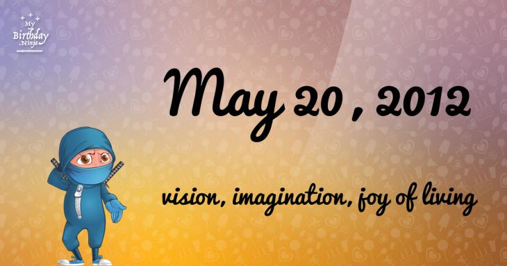 May 20, 2012 Birthday Ninja
