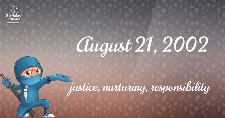 August 21, 2002 Birthday Ninja