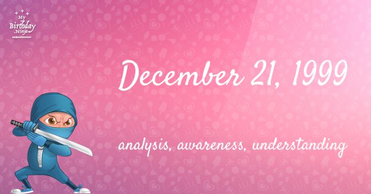 December 21, 1999 Birthday Ninja