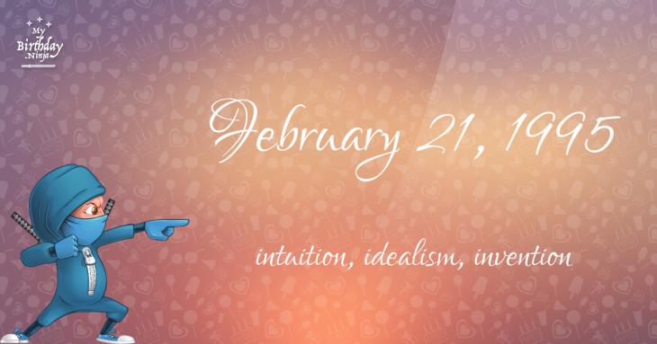 February 21, 1995 Birthday Ninja