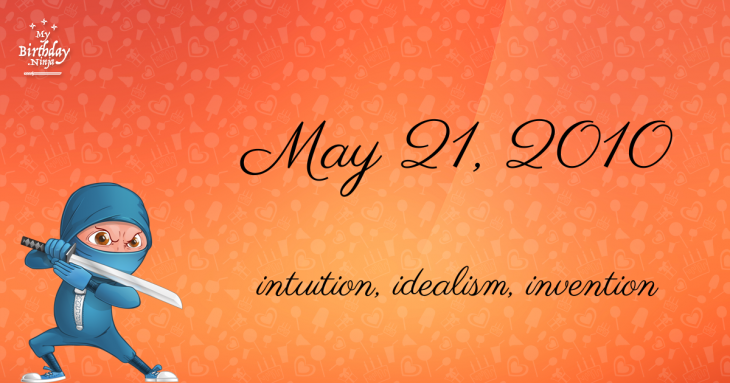 May 21, 2010 Birthday Ninja