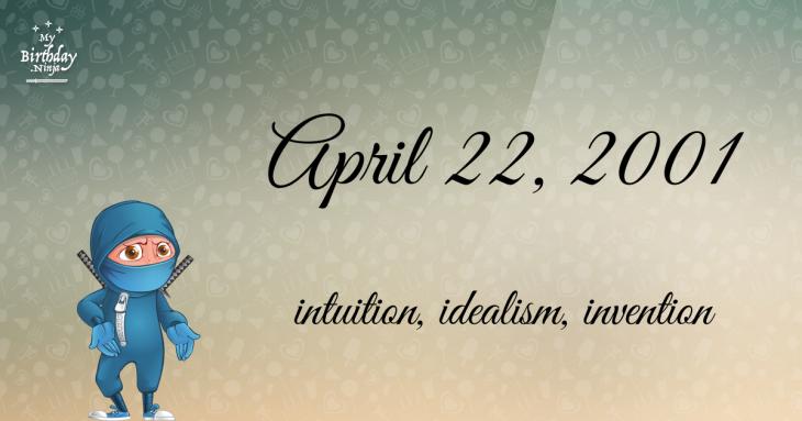 April 22, 2001 Birthday Ninja