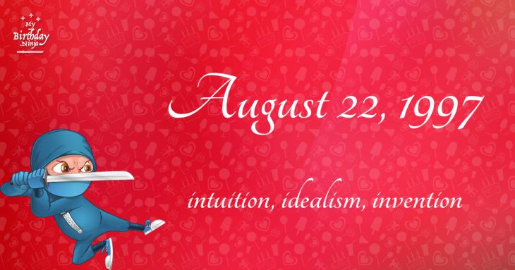 August 22, 1997 Birthday Ninja