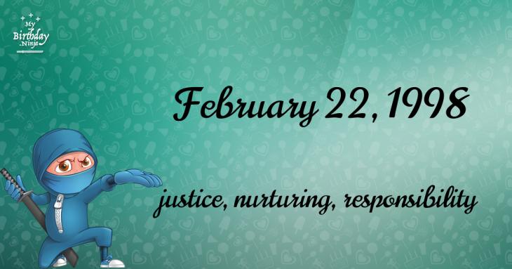 birthday horoscope 22 february 2020