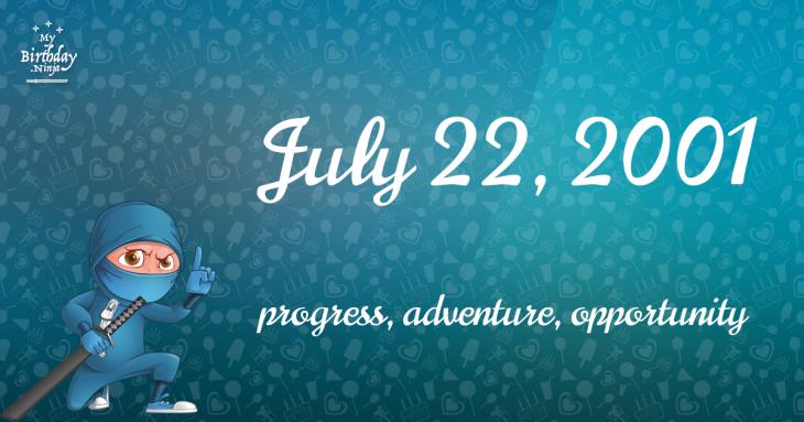 July 22, 2001 Birthday Ninja