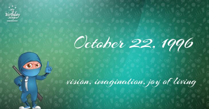 October 22, 1996 Birthday Ninja