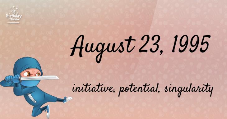 August 23, 1995 Birthday Ninja