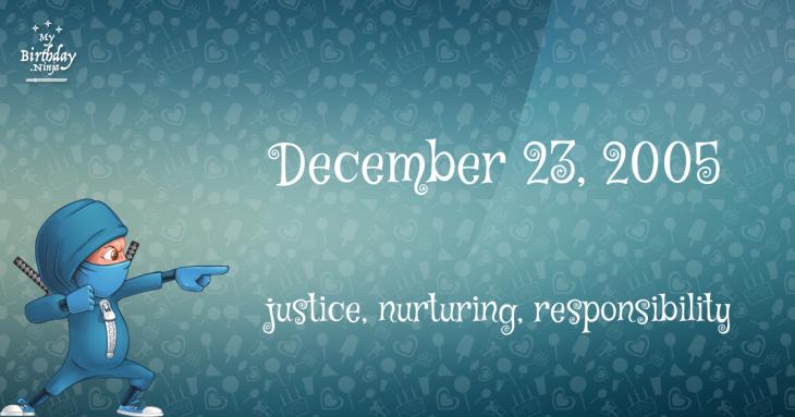 December 23, 2005 Birthday Ninja