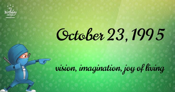 October 23, 1995 Birthday Ninja