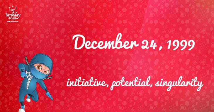 December 24, 1999 Birthday Ninja
