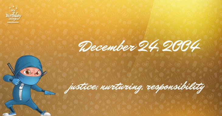December 24, 2004 Birthday Ninja