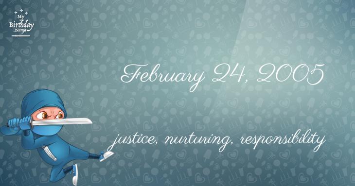 February 24, 2005 Birthday Ninja