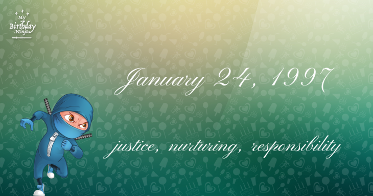 January 24, 1997 Birthday Ninja