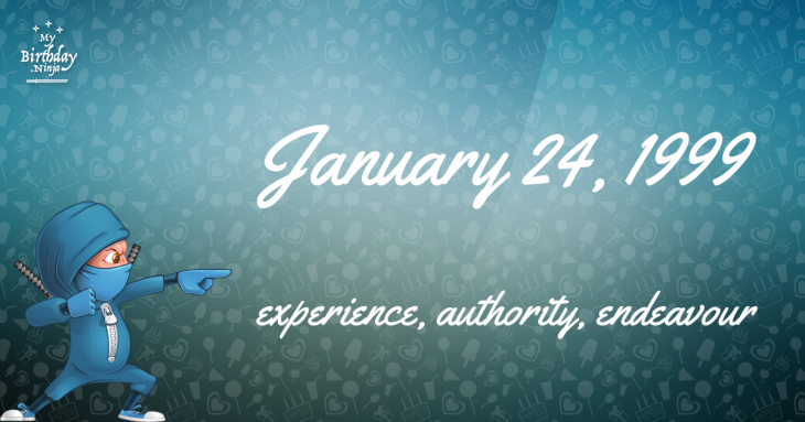 January 24, 1999 Birthday Ninja