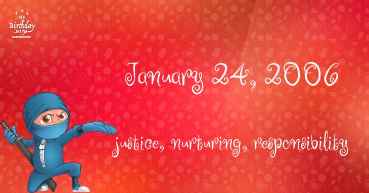 January 24, 2006 Birthday Ninja