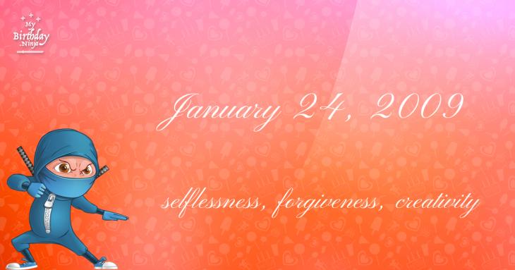 January 24, 2009 Birthday Ninja