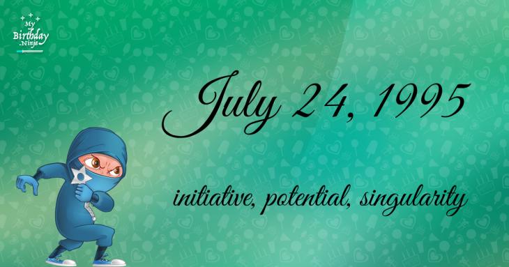 July 24, 1995 Birthday Ninja