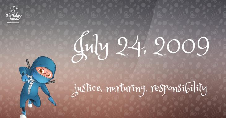 July 24, 2009 Birthday Ninja