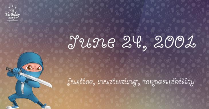 June 24, 2001 Birthday Ninja