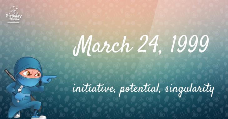 March 24, 1999 Birthday Ninja