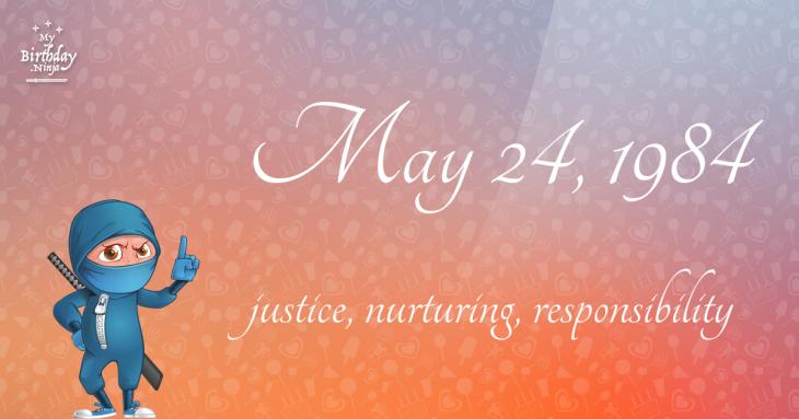 May 24, 1984 Birthday Ninja