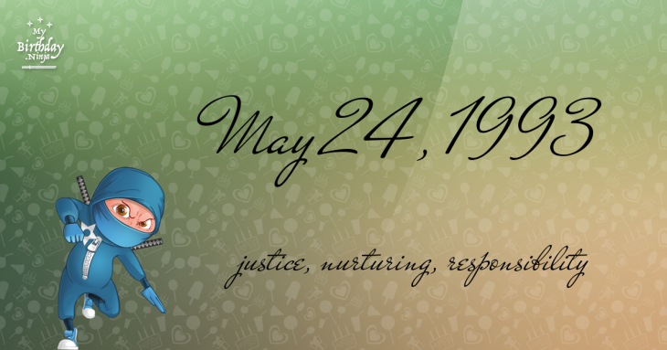 May 24, 1993 Birthday Ninja