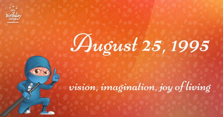 August 25, 1995 Birthday Ninja