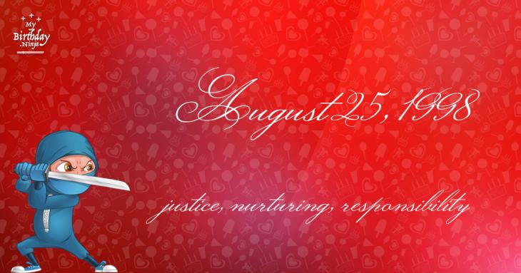 August 25, 1998 Birthday Ninja
