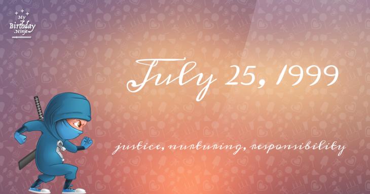 July 25, 1999 Birthday Ninja