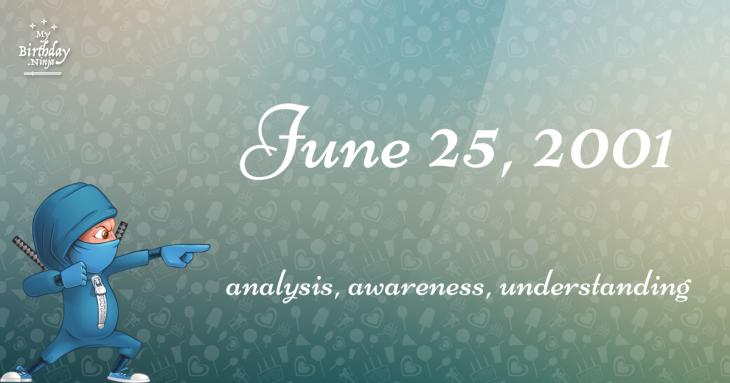 June 25, 2001 Birthday Ninja