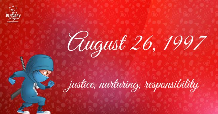 August 26, 1997 Birthday Ninja