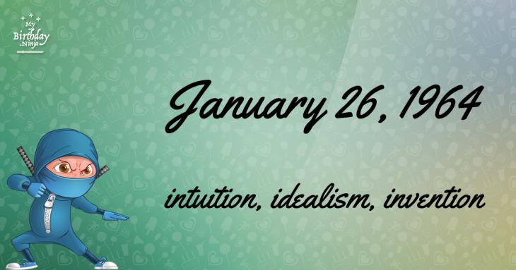 January 26, 1904 Birthday Facts