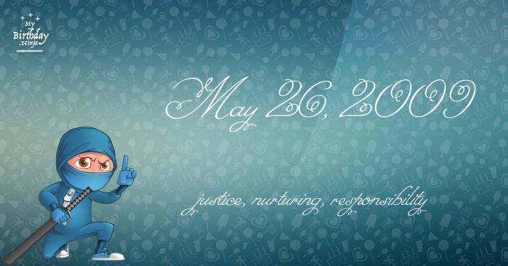 May 26, 2009 Birthday Ninja