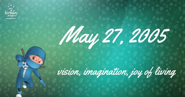 May 27, 2005 Birthday Ninja