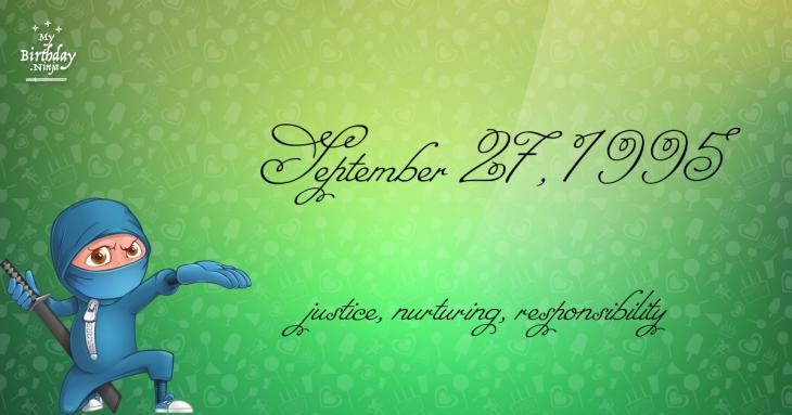 September 27, 1995 Birthday Ninja