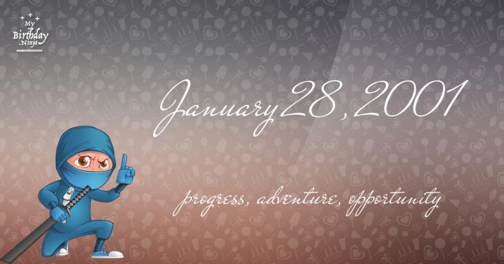 January 28, 2001 Birthday Ninja