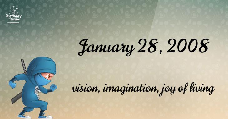 January 28, 2008 Birthday Ninja