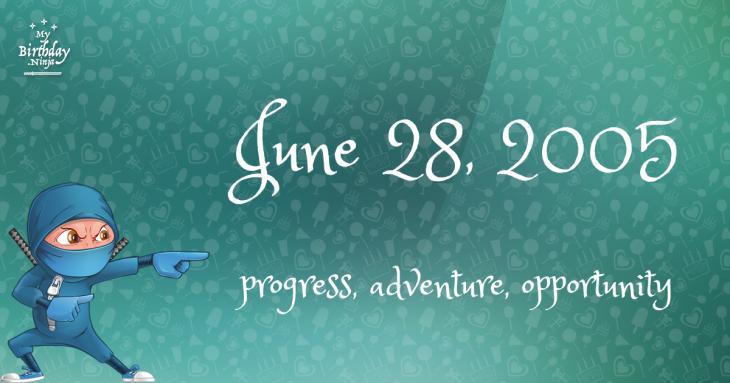 June 28, 2005 Birthday Ninja