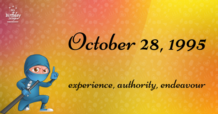 October 28, 1995 Birthday Ninja
