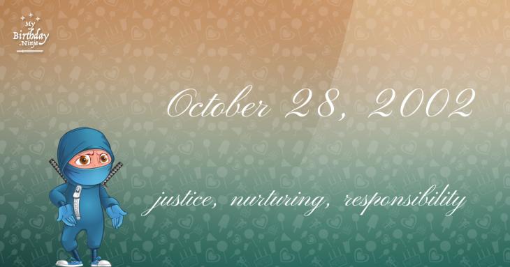 October 28, 2002 Birthday Ninja