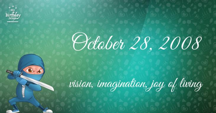 October 28, 2008 Birthday Ninja