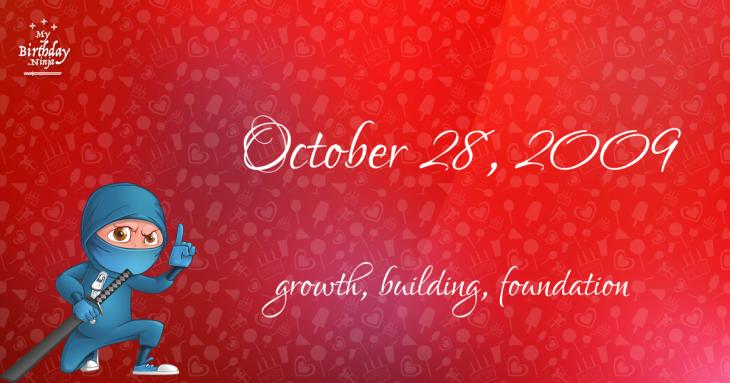 October 28, 2009 Birthday Ninja