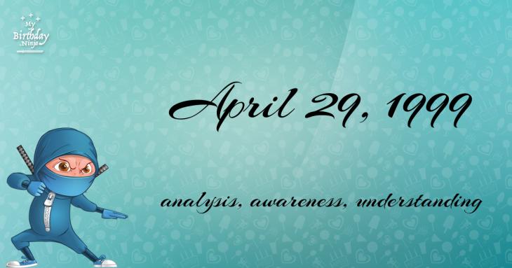 April 29, 1999 Birthday Ninja
