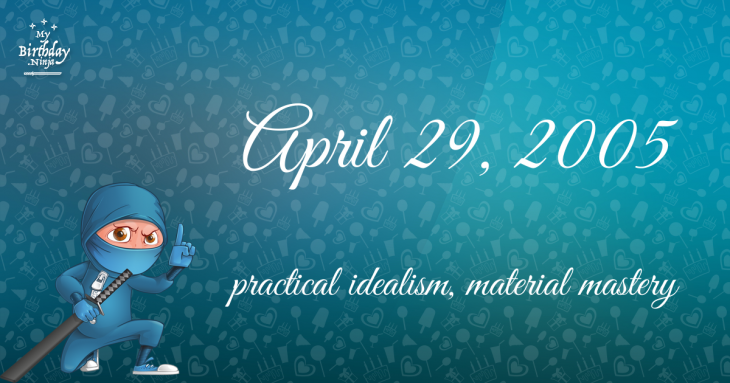 April 29, 2005 Birthday Ninja