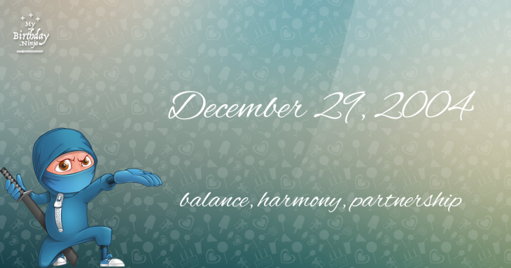 18 Fun Birthday Facts About December 29 2004 You Must Know