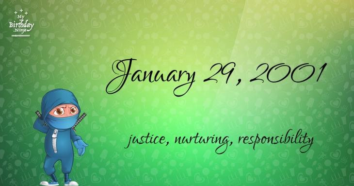 January 29, 2001 Birthday Ninja